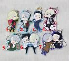 Hot Japan Anime YURI!!! on ICE Victor Nikiforov Rubber Strap Keychain Pendant F1