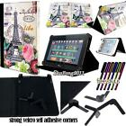 New Folio Stand Leather Cover Case For Various KURIO Models Tablet + STYLUS