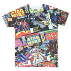 Star Wars Characters Men's Black T-shirt $10.99 USD