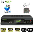 H.265 ACM Dual Dish Tuner DVB-S2 Digital Satellite Receiver IPTV LAN Youtube PVR