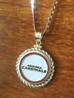STERLING SILVER ROPE PENDANT W/ NFL ARIZONA CARDINALS c SETTING JEWELRY GIFT on eBay