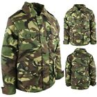 KIDS ARMY CAMOUFLAGE PADDED COAT 3-13 YEARS RIPSTOP JACKET BOYS GIRLS DPM CAMO