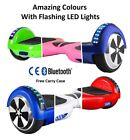 "6.5"" 2 WHEELS SELF BALANCING SCOOTER BALANCE BOARD BLUETOOTH +LED+REMOTE UK <"