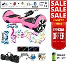 "6.5"" 2 WHEELS SELF BALANCING SCOOTER BALANCE BOARD BLUETOOTH +LED+REMOTE UK /"