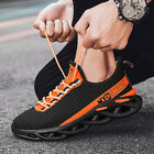 Mens Sneakers Casual Sports Athletic Breathable Running Shoes Plus size