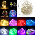 20/50/100 LED String Battery/USB/12V Supply Copper Wire Xmas Party Fairy Lights