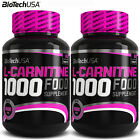 L-Carnitine 1000 60/120 Fat Tissue Reduction Weight Loss Turn Fat Into Energy
