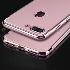 Luxury Crystal Clear TPU Soft Bumper Case Cover for Apple iPhone 8 Plus + / 8