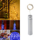 5PCS 15/20 LEDs Battery Operated Mini LED Copper Wire String Fairy Lights Decor
