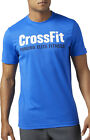 Reebok Speedwick F.E.F Graphic Mens Crossfit Top - Blue