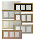 Oak Picture Photo Frames & Multi Image Mount in various colours Quality MDF Wood