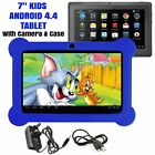 7 INCH KIDS ANDROID TABLET 4.4 QUAD CORE WIFI CAMERA CHILD CHILDREN PC UK STOCK