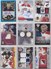 Goalie Jersey Auto Patch Rookie RC Autograph Numbered -Choose From List NHL