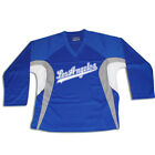 Los Angeles Script Hockey Practice Jersey Optional Name & Number - Royal Blue
