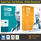 ESET Smart Security 2018, 1 or 3 or 5 PCs / 1 Year- License in eBay Message