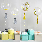 10PCS Round Bubble Ballon Traceless Transparent Balloon Wedding Party Decor