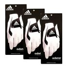 3 NEW Adidas Adistar Mens Golf Gloves Regular Fit -You Choose Size and Dexterity