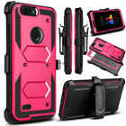 For ZTE Blade Z Max Z982 Shockproof With Kickstand Holster Clip Phone Case Cover
