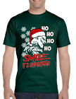 NEW Men's T Shirt Christmas Joker Smile Its Christmas Ugly Holiday Tee