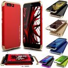 For Huawei P10/P10 Plus Shockproof Metal Aluminum Bumper + PC Back Case Cover