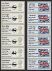 HMS Trincomalee 200 Years Machin & Flag Collector Strips Post & Go Faststamp