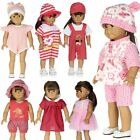 Fashion Dolls Dress Jumpsuit Clothes for 18'' American Girl My Life Journey Doll