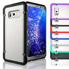 Heavy Duty Hard Hybrid Protective Clear Case Cover For Samsung Galaxy S8 / S8+