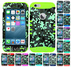 For Apple iPhone 6 Plus | 6s Plus - KoolKase Hybrid Cover Case Digital Camo 06