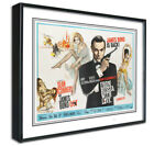 James Bond Framed Canvas Art Print Poster, Retro Vintage, A4 A3,Russia With Love £17.99 GBP