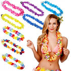 Hawaiiketten  Hula-Kette Beach-Party Hawaiikette Karneval Fasching Blumen Hawaii