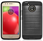 For Motorola Moto E4 Plus / Moto E Plus (4th Gen) Brushed Armor Hard Cover Case