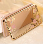Flexible Phone Case Cover Printed Secret Garden Plating TPU Case For iPhone7/7P