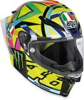 AGV Adult Motorcycle Piston GP R Carbon Fiber Soleluna 46 Helmet S-2XL