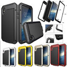 Shockproof Waterproof Heavy Duty Bumper Aluminum Metal Cover Case iPhone X 8 6 7