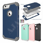 For iPhone 6 6s 7 plus Shockproof Rugged Hard 3in1 Hybrid Protect Case Cover