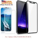 For phone 6/6S 4D Full Coverage Tempered Glass Screen Protector Guard Cover Film
