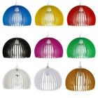 Modern Round Acrylic Easy Fit Ceiling Pendant Light Lamp Shade Nine Colors
