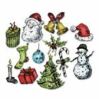 Sizzix Stampers Anonymous Tattered Christmas by Tim Holtz Stamps OR Framelits