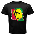New XTC Drums And Wires Album Cover Rock Band Men's Black T-Shirt Size S-3XL