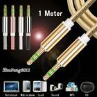 1M 3.5mm Jack Aux Cable Audio Lead MP3 Car Phone For Silent Circle Blackphone 2