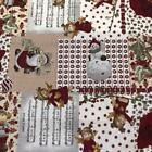 CHRISTMAS Poly Cotton Fabric 140cm wide CD51