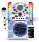 Complete Karaoke Systems - KARAOKE MACHINE SYSTEM Microphone Bluetooth CDG Audio Singing LightUp Display