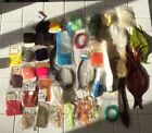 Mixed Lot Of Fly tying materials