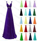 New Formal Long Evening Ball Gown Party Prom Bridesmaid Dress Stock Size 6 - 22