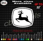 John Deere Equipment Decal Sticker many colors and sizes skid steer