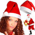 Christmas Decorations Santa Hat Chair Covers Dinner Chair Xmas Cap 1/4pcs/Sets