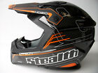 New Stealth CARBON FIBRE KEVLAR Motocross Enduro Helmet Gold Acu Road Legal KTM