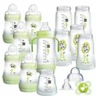 MAM Easy Start Bottle Set Large - Green 1 2 3 6 12 Packs