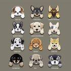Cute Chihuahua Shiba Dog Patch Clothing Patches Backpack Decor Iron on Applique