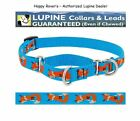 """Lupine Lifetime COMBINATION or Martingale Dog Collar 3/4"""" LIMITED - FOXY PAWS"""